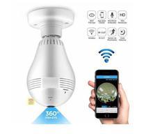 Lâmpada Câmera de segurança 360 graus V380 - Eyespy
