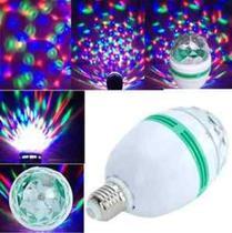 Lâmpada Colorida Para Festas / Led Full Color Rotating Lamp -