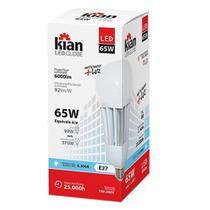 Lâmpada  de LED Kian 65W 6.000 Lumens 6.500K Base E27 Bivolt Cor: Branca -
