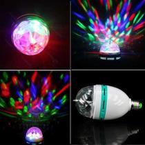 Lampada globo giratório colorida - Ls