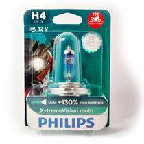 Lâmpada H4 Philips Xtreme Vision Moto 60/55W -