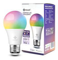 Lampada Inteligente Smart RGB Wifi LED Bulbo Alexa Google - Ekaza