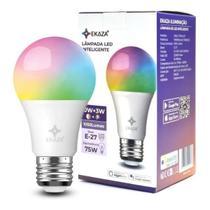 Lampada inteligente wifi led rgb 10w+3w - Ekaza