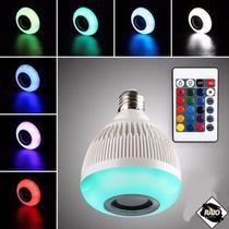 Lampada Led 12w Caixa Som Bluetooth 2 Em 1 Mp3 Music Bulb 2 (Bivolt) Cor da luz: RGB - CDC