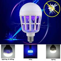Lampada LED 15w 2 em 1 Mata Mosquito - LAN-3011Z - Inova
