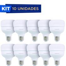 Lampada Led  Bulbo 2000 Lumens 20w 6500k Biv Empalux Kit Com 10 -