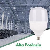 Lampada LED Bulbo 40w Alta Potencia Bco Frio Barracao Promoçao kit 04 unidades - Lp