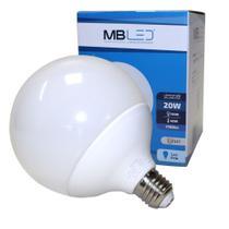 Lâmpada Led Bulbo Balloon Leitosa Globo G120 20w E27 Bivolt - MbLed -