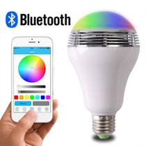 Lampada Led Colorida Controle Inteligente Bluetooth App Celular - Importado