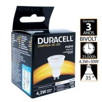 Lâmpada Led Duracell Dicróica 4,3W 6500K - Branca -