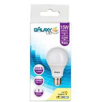 Lâmpada LED Galaxy Bulbo 15W 3000K E-27 Bivolt Bulbo A65 -