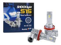 Lampada led headlight s15 nano h8/h16-2 6000k 12v 40w 4200lm shocklight -