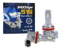 Lampada led headlight s15 nano h9/h11 6000k 12v 40w 4200lm shocklight -