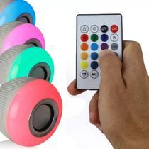 Lampada LED Musical Bluetooth - com Controle - Winjoin