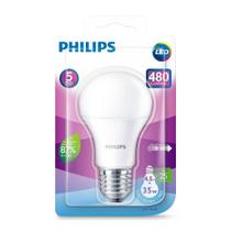 Lâmpada Led Philips Bulbo 480lm 6500K 4,5W-35W