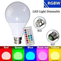 Lampada led rgb com controle colorida com efeitos 10w - Gimp -