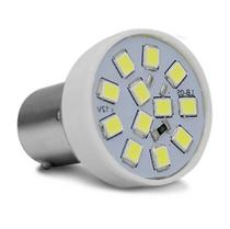 Lâmpada LED Tuning 1 Polo Trava Reta 6500K 2,4W 12V Luz Branca Ré Autopoli -