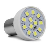 Lâmpada LED Tuning 1 Polo Trava Reta 6500K 2,4W 12V Luz Branca Ré Original Autopoli -