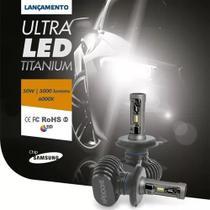 Lampada led ultraled titanium h1 6000k 12v 50w 5000lm shocklight -