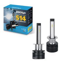 Lâmpada Nano Led H1 S14 P/ Farol Alto Corsa /02 - Shocklight