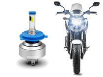 Lâmpada Novo Super LED Moto H4 Shocklight 12V 6000K 35W 3200lm Plug  Play -