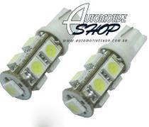 Lampada Pingo T10 de 9 Leds super branco Unidade - Automotive shop