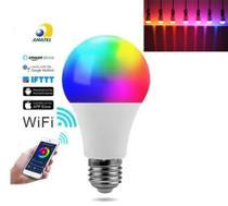 Lampada Smart bulbo colorida bluetooth inteligente Google home - Eastern