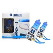 Lampada Super Branca H3 8500k TechOne -