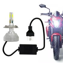 Lâmpada Super C6 LED 3D Headlight H4 6000K 12V 4500LM Efeito Xênon Farol Moto - Prime