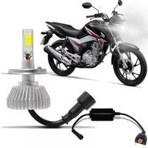 Lampada Super Led 6000k Farol Moto Honda Cg Fan ETitan  160 - Imports