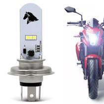 Lâmpada Super Led H4 8000k 35w 12V Universal Aplicação Farol Carro Moto - St