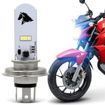 Lâmpada Super LED Honda CB Twister 2016 2017 2018 2019 H4 8000K 35W Farol Alto ou Baixo -