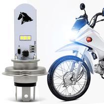 Lâmpada Super LED Honda POP 110i 15 16 17 18 19 H4 8000K 35W Luz Azulada Farol Alto ou Baixo - St