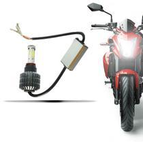 Lâmpada Super Led Moto 3d Headlight H4 6000k Pronta Entrega - B2t