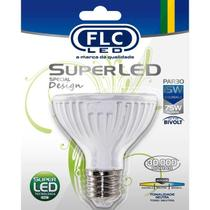 Lâmpada Super LED PAR30, 15 Watts, FLC,  Branca Neutra -