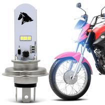Lâmpada Super LED Yamaha 150 Factor 2016 2017 2018 2019 H4 8000K 35W Farol Alto ou Baixo - St