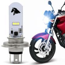 Lâmpada Super LED Yamaha Fazer 250 2005 A 2014 H4 8000K 35W Farol Alto ou Baixo - St