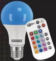 Lampada TASCHIBRA LED RGB 9W  E27 Bivolt -