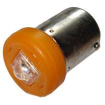Lâmpada tipo 67 1 led amarelo 12v 5/10w foco 140 - 10 pç - Autopoli