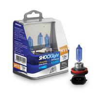 Lâmpadas Super Brancas Farol H11 8500k - Shocklight