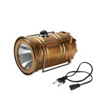 Lampião Solar E Lanterna Led 2 Em 1 Recarregável Com Saída Usb - KING