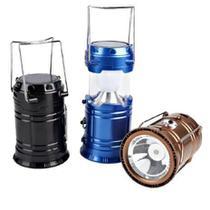 Lampião Solar E Lanterna Led 2 Em 1 Recarregável Com Saída Usb - toys