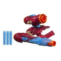 Lança Dardos - Disney - Marvel - Vingadores - Guerra Infinita - Iron Man - Hasbro - Dtc