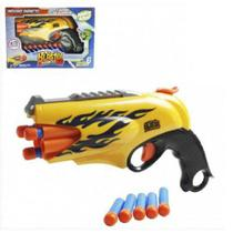 Lança dardos infantil Nerf Blaster 6 Dardos Ark Toys AKT3292 -