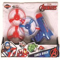 Lança Disco Marvel Avengers Toyng -