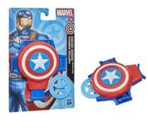 Lança Discos Capitão América Marvel - Hasbro - F0522  5010993794584 -