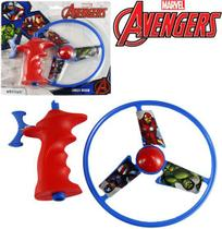 Lança Lançador Discos de Brinquedo Vingadores - Etitoys