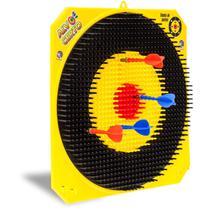 Lancador Alvo Certo C/4 Dardos Cardoso Toys Unidade -