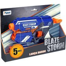 Lancador Blaze Storm Hot Fire C/05 Dard Homeplay Unidade -
