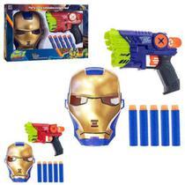 Lançador De Dardos Protetor Da Galáxia Com Máscara - Art Brink -